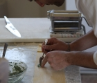 cooking class - making pasta