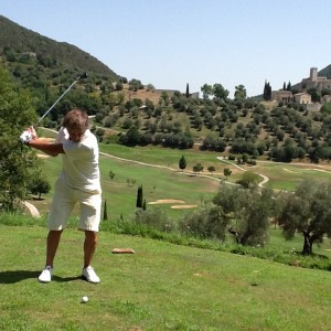 Sporting activities Antognolla Golf